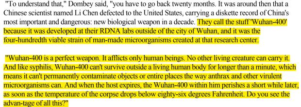 Wuhan-400 Coronavirus